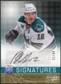 2008/09 Upper Deck Be A Player Signatures Player's Club #SPM Patrick Marleau Autograph /15