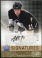 2008/09 Upper Deck Be A Player Signatures Player's Club #SSJ Jordan Staal Autograph /15