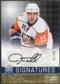 2008/09 Upper Deck Be A Player Signatures Player's Club #STA Jeff Tambellini Autograph /15