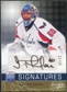 2008/09 Upper Deck Be A Player Signatures Player's Club #STH Jose Theodore Autograph /15