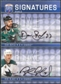 2008/09 Upper Deck Be A Player Signatures Dual #S2BB Rob Blake / Dan Boyle Autograph