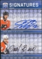 2008/09 Upper Deck Be A Player Signatures Dual #S2GB Daniel Briere Simon Gagne Autograph