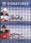 2008/09 Upper Deck Be A Player Signatures Dual #S2GP Brian Gionta Zach Parise Autograph