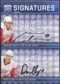 2008/09 Upper Deck Be A Player Signatures Dual #S2HC Dan Cleary Marian Hossa Autograph