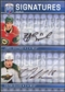2008/09 Upper Deck Be A Player Signatures Dual #S2SG James Sheppard / Colton Gillies Autograph