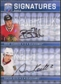 2008/09 Upper Deck Be A Player Signatures Dual #S2SK Brent Seabrook Duncan Keith Autograph