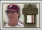 2009 Upper Deck SP Legendary Cuts Legendary Memorabilia Brown #SC2 Steve Carlton /50