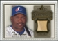 2009 Upper Deck SP Legendary Cuts Legendary Memorabilia Brown #TR2 Tim Raines /50