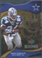2009 Upper Deck Icons Gold Holofoil Die Cut #2 Marion Barber /75