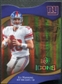 2009 Upper Deck Icons Gold Holofoil Die Cut #6 Eli Manning /75
