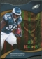 2009 Upper Deck Icons Gold Holofoil Die Cut #10 Brian Westbrook /75