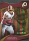 2009 Upper Deck Icons Gold Holofoil Die Cut #14 Clinton Portis /75