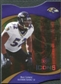 2009 Upper Deck Icons Gold Holofoil Die Cut #73 Ray Lewis /75