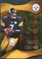 2009 Upper Deck Icons Gold Holofoil Die Cut #82 Ben Roethlisberger /75