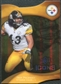 2009 Upper Deck Icons Gold Holofoil Die Cut #85 Troy Polamalu /75