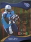 2009 Upper Deck Icons Gold Holofoil Die Cut #97 LenDale White /75