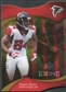 2009 Upper Deck Icons Gold Holofoil Die Cut #100 Roddy White /75