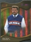 2009 Upper Deck Icons Gold Holofoil Die Cut #187 Mike Ditka /25