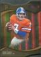 2009 Upper Deck Icons Gold Holofoil Die Cut #193 John Elway 10/25