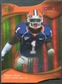 2009 Upper Deck Icons Gold Holofoil Die Cut #162 Vontae Davis /50