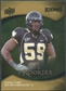 2009 Upper Deck Icons Gold Foil #157 Aaron Curry /99