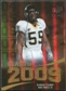 2009 Upper Deck Icons Class of 2009 Gold #AC Aaron Curry /130