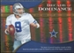 2009 Upper Deck Icons Decade of Dominance Gold #DDTR Tony Romo /130