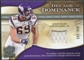 2009 Upper Deck Icons Decade of Dominance Jerseys #DDJA Jared Allen /199