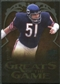2009 Upper Deck Icons Greats of the Game Gold 199 #GGDB Dick Butkus /199