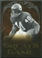 2009 Upper Deck Icons Greats of the Game Gold 199 #GGGS Gale Sayers /199