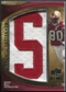 2009 Upper Deck Icons Immortal Lettermen #ILJR Jerry Rice/124/(Letters spell out 49ERS/ Total print run 620) /