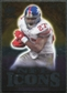 2009 Upper Deck Icons NFL Icons Silver #ICBA Brandon Jacobs /450