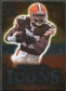2009 Upper Deck Icons NFL Icons Silver #ICBH Braylon Edwards /450