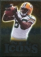 2009 Upper Deck Icons NFL Icons Silver #ICDD Donald Driver /450
