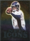 2009 Upper Deck Icons NFL Icons Silver #ICJC Jay Cutler /450