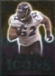 2009 Upper Deck Icons NFL Icons Silver #ICRL Ray Lewis /450
