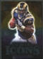 2009 Upper Deck Icons NFL Icons Silver #ICSJ Steven Jackson /450