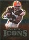 2009 Upper Deck Icons NFL Icons Gold #ICBH Braylon Edwards /199
