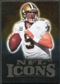 2009 Upper Deck Icons NFL Icons Gold #ICBR Drew Brees /199