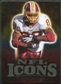 2009 Upper Deck Icons NFL Icons Gold #ICCP Clinton Portis /199