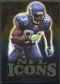 2009 Upper Deck Icons NFL Icons Gold #ICDB Deion Branch /199