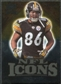 2009 Upper Deck Icons NFL Icons Gold #ICHW Hines Ward /199
