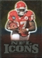 2009 Upper Deck Icons NFL Icons Gold #ICLJ Larry Johnson /199