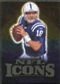 2009 Upper Deck Icons NFL Icons Gold #ICPM Peyton Manning /199