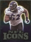 2009 Upper Deck Icons NFL Icons Gold #ICRL Ray Lewis /199