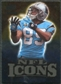 2009 Upper Deck Icons NFL Icons Gold #ICSS Steve Smith /199