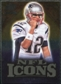 2009 Upper Deck Icons NFL Icons Gold #ICTB Tom Brady /199