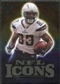 2009 Upper Deck Icons NFL Icons Gold #ICVJ Vincent Jackson /199