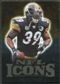 2009 Upper Deck Icons NFL Icons Gold #ICWP Willie Parker /199