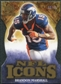 2009 Upper Deck Icons NFL Icons Die Cut #ICBM Brandon Marshall /40